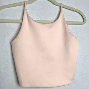 Zara Basic Pink Crop